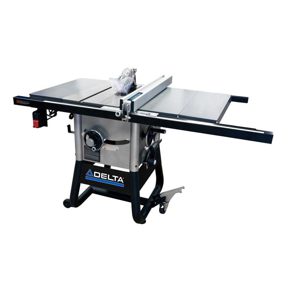 Shop table saws at lowes delta 5000 series 15 amp 10 in carbide tipped table saw greentooth Gallery