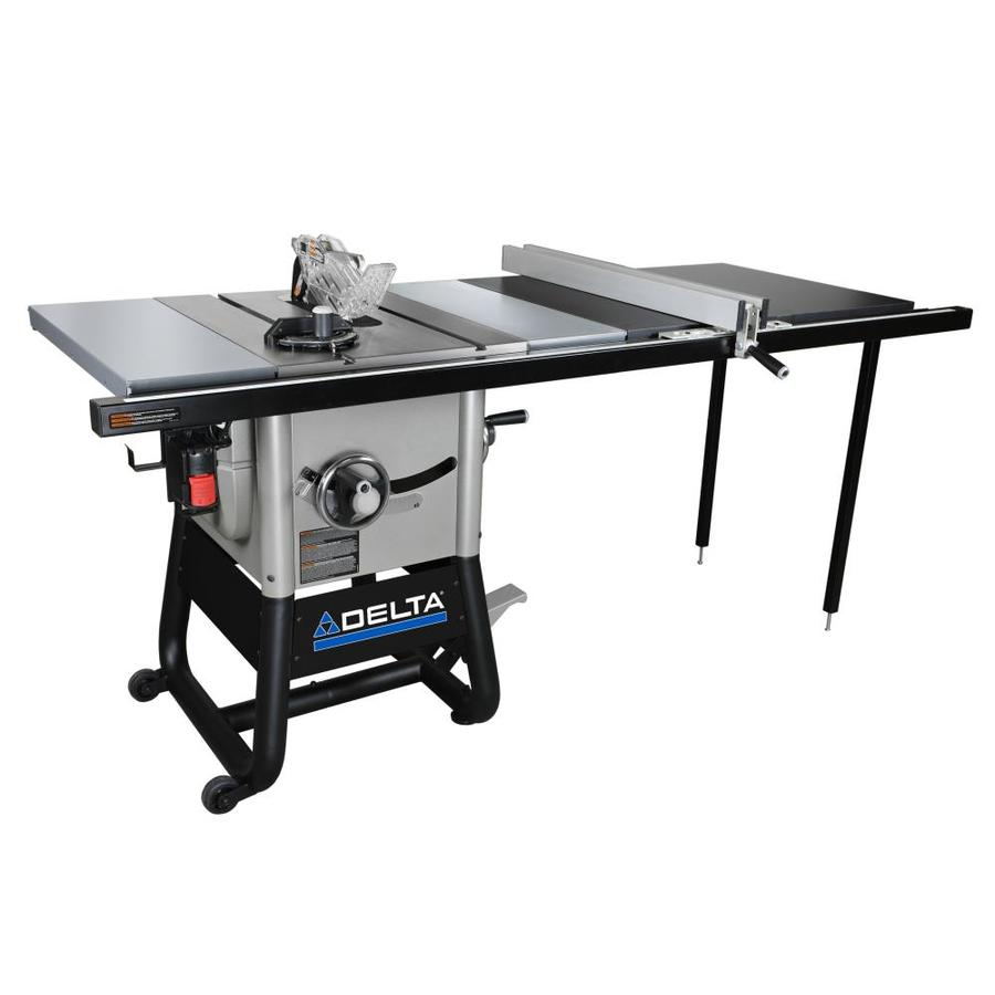 Shop Delta 5000 Series 15 Amp 10 In Carbide Tipped Table Saw At