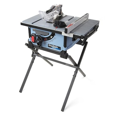 Superb Shopmaster 10 In Carbide Tipped Blade 15 Amp Portable Table Saw Squirreltailoven Fun Painted Chair Ideas Images Squirreltailovenorg