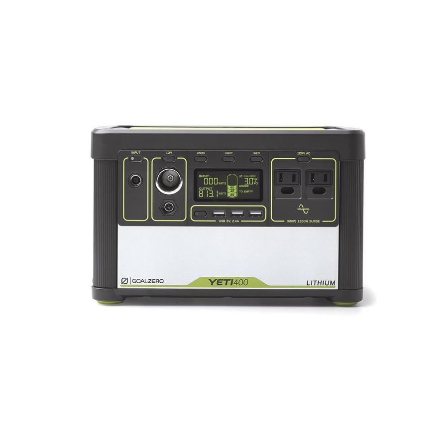 GOAL ZERO Yeti 400 Lithium 400-Watt Hour Portable Solar Generator at