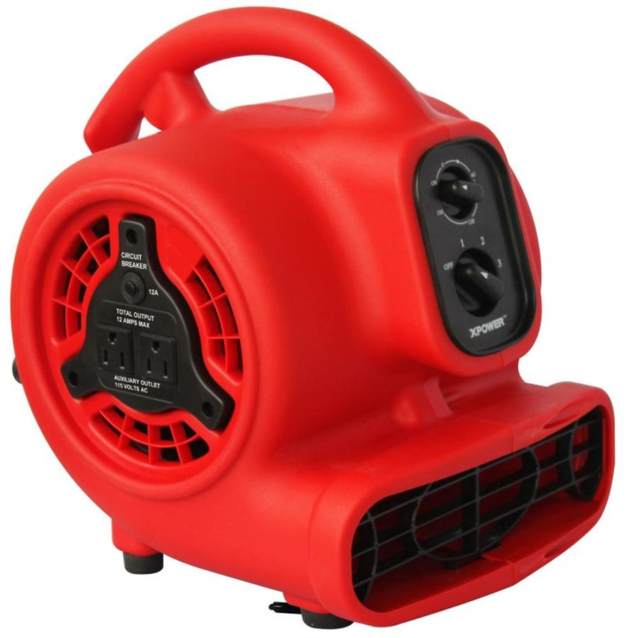 Shop Xpower 600 Cfm 3 Speed Blower Fan With Timer At Lowes Com