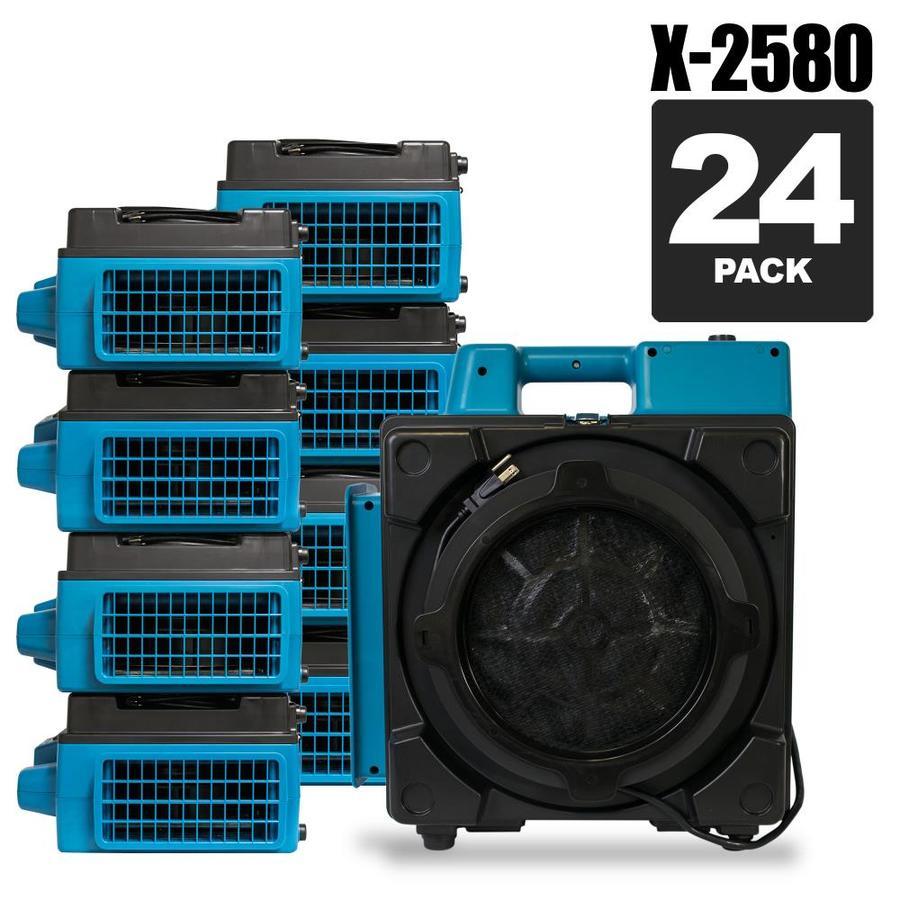 XPOWER X-2580-PK24 5-Speed 1500-sq ft HEPA Air Purifier