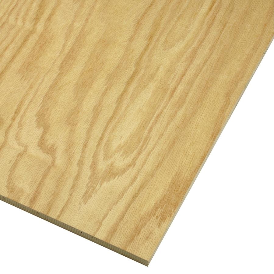 Shop 3 4 X 2 X 4 Oak Plywood At Lowes Com