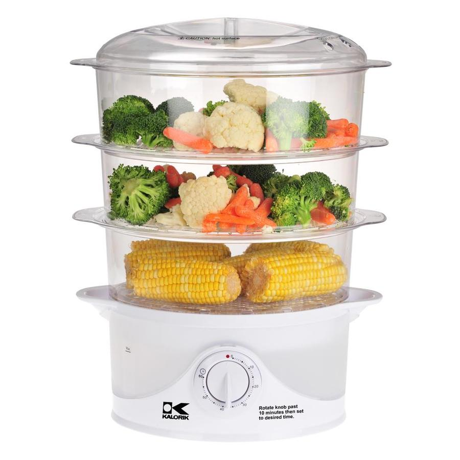 Kitchen Living Food Steamer: KALORIK 9.5-Quart Food Steamer At Lowes.com