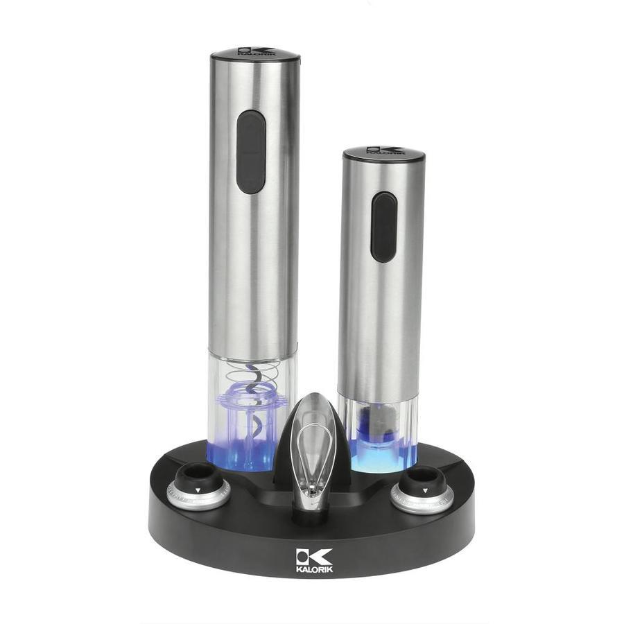 KALORIK Stainless Steel Electric Wine Bottle Opener