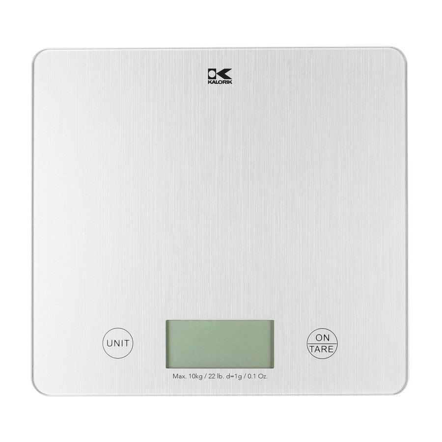 KALORIK Silver Kitchen Scale