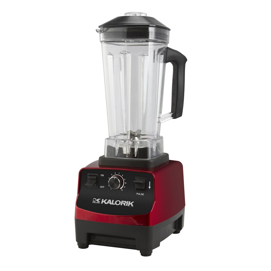 Kalorik Masticating Juicer Review : Shop KALORIK 128-oz Red 12-Speed 1500-Watt Pulse Control Blender at Lowes.com