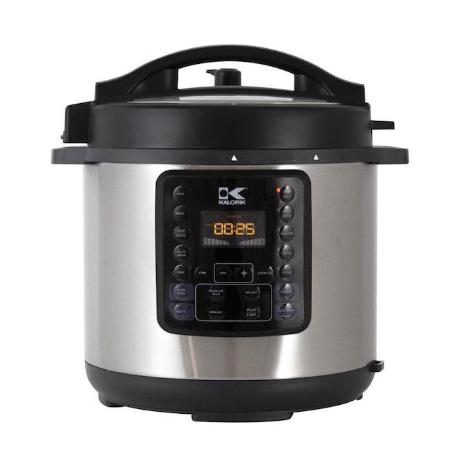 KALORIK EPCK 45028 BK 8-Quart Programmable Electric Pressure Cooker