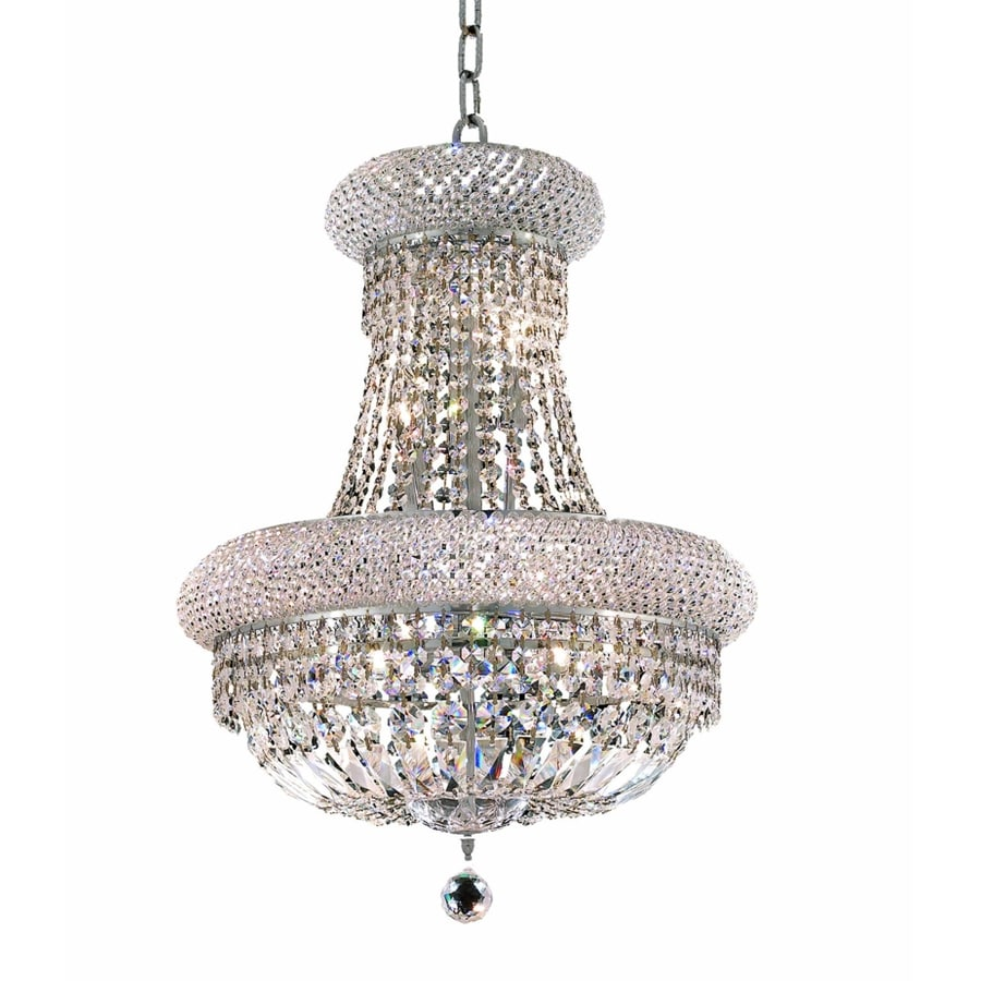 Luminous Lighting Primo 20-in 14-Light Chrome Empire Chandelier