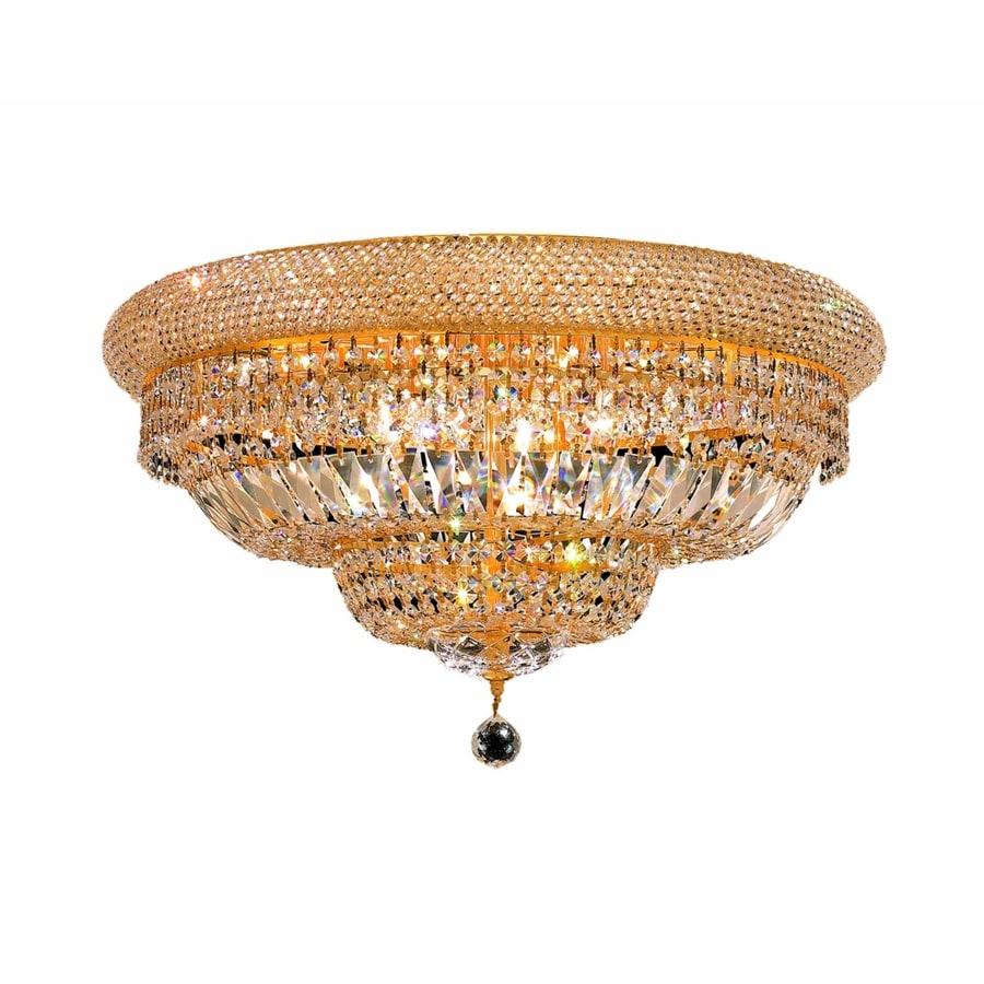 Luminous Lighting Primo 24-in W Gold Standard Flush Mount Light