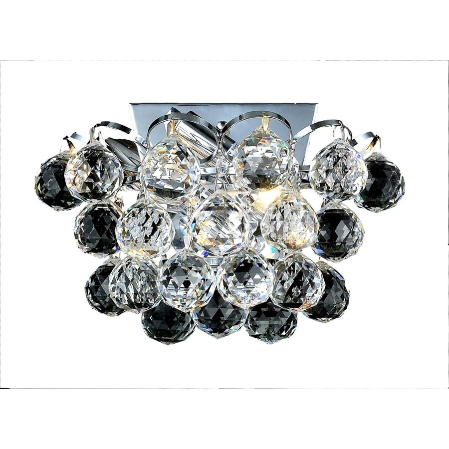 Luminous Lighting 10-in W 1-Light Chrome Pocket Hardwired Wall Sconce
