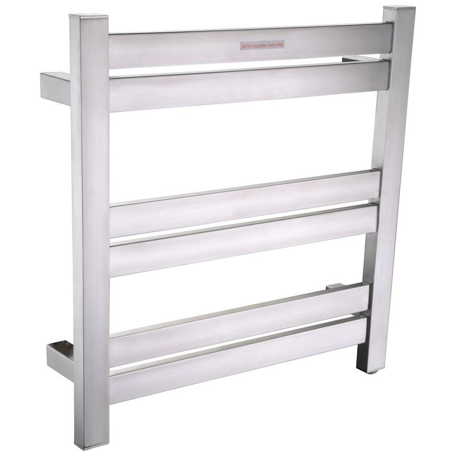 Anzzi Brushed Nickel Towel Warmer At Lowes Com