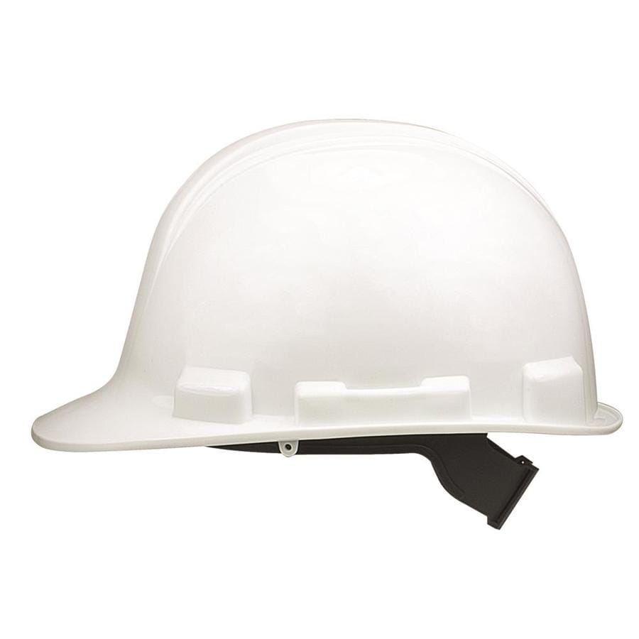 Safety Works White Hard Hat