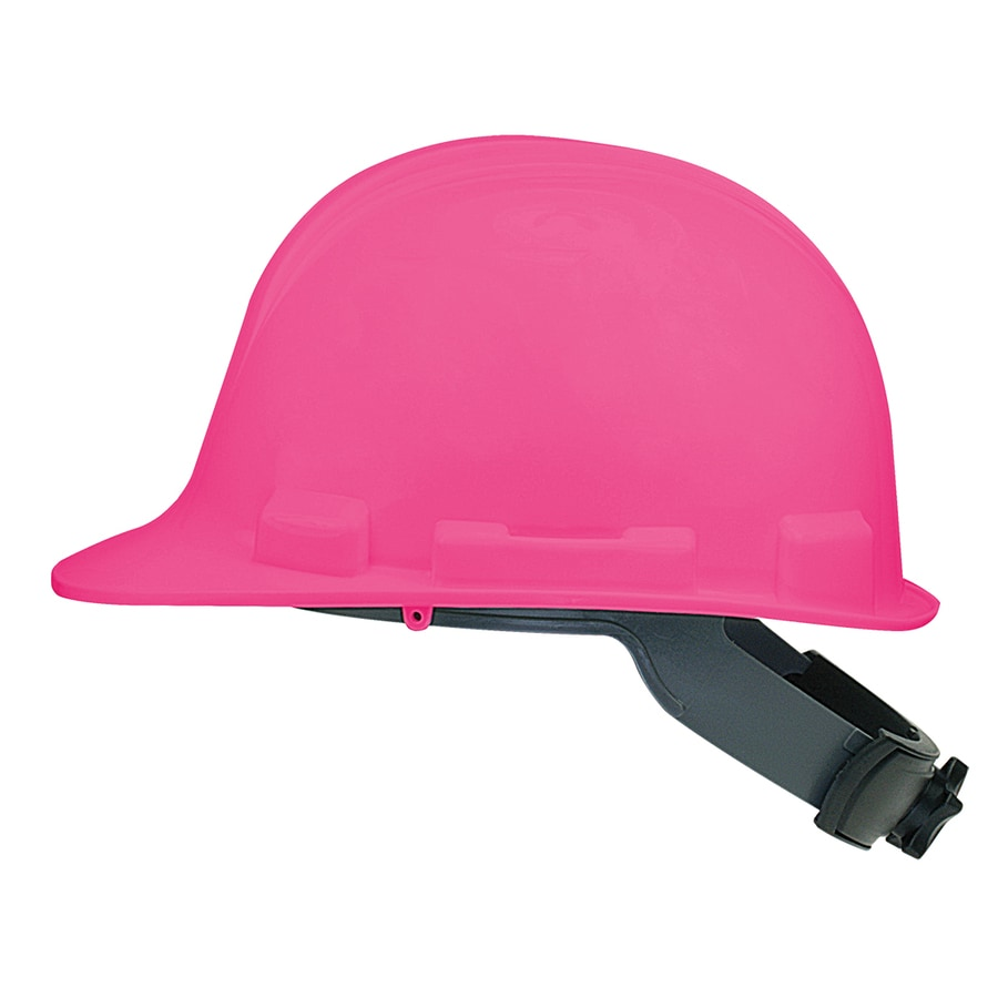 Shop Safety Works Quick Adjusting Ratchet Pink Hard Hat At