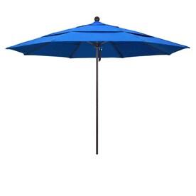 Simplyshade 11 Ft Spectrum Sand Auto Tilt Market Patio Umbrella In The Patio Umbrellas Department At Lowes Com