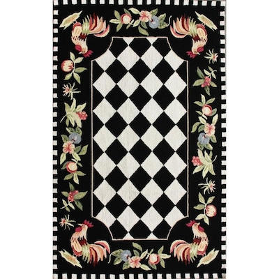 Angla Rooster Kitchen Rug