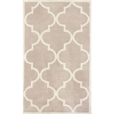 Incredible Nuloom Neutral Indoor Handcrafted Area Rug Common 5 X 8 Download Free Architecture Designs Embacsunscenecom