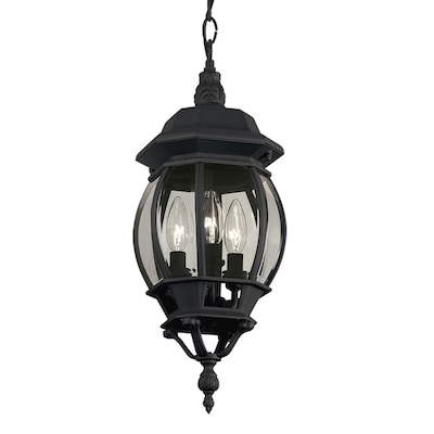 promo code 97d35 47b3b Black Multi-Light Traditional Clear Glass Globe Pendant Light