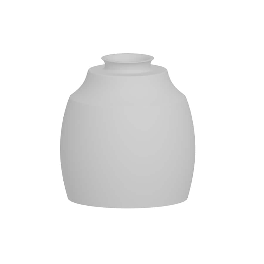 Portfolio 5-1/8-in Frosted Opal Vanity Light Glass
