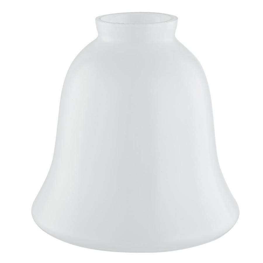 Vanity Light Shade Lowes : Shop 5.35-in H 5.47-in W Shiny Opal Bell Vanity Light Shade at Lowes.com