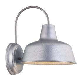 Portfolio Ellicott H Galvanized Dark Sky Outdoor Wall Light