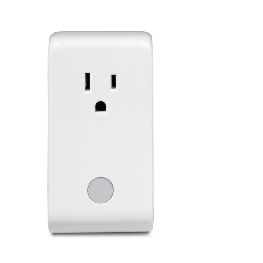 Iris 110 Volts-Volt White Iris Smart Plug