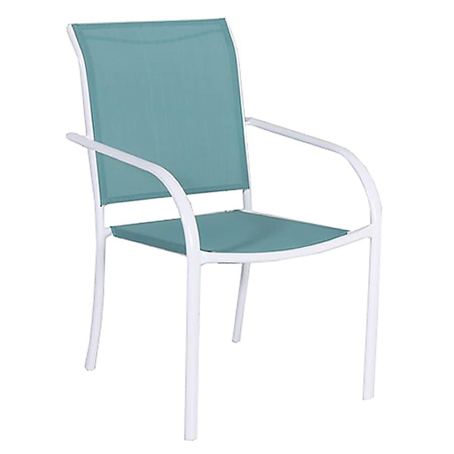 Style Selections Driscol Steel Stackable Dining Chair At