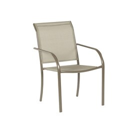 Garden Treasures Driscol Stackable Patio Dining Chair