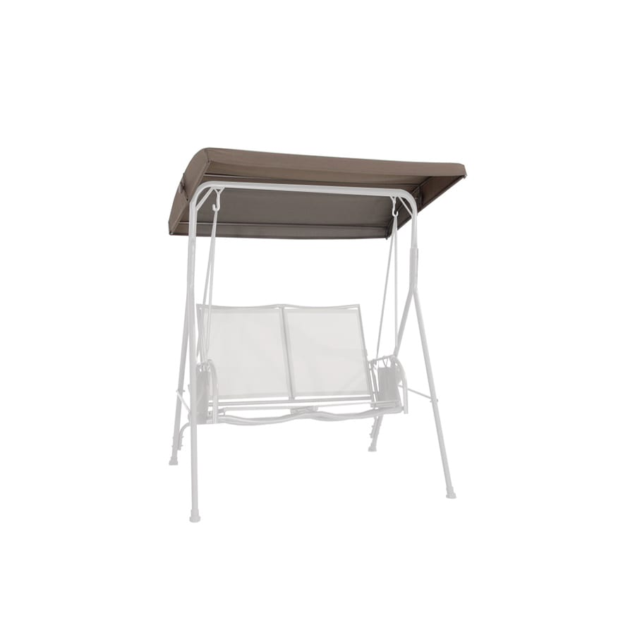 Garden Treasures Taupe Steel 2-Person Replacement Top for Porch Swing or Glider