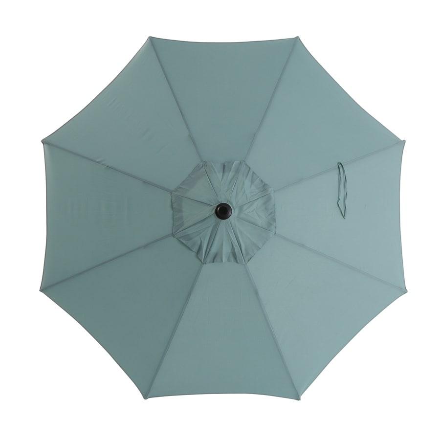 Garden Treasures Patio Umbrella (Common: 102.76-in W x 102.76-in L; Actual: 102.76-in W x 102.76-in L)