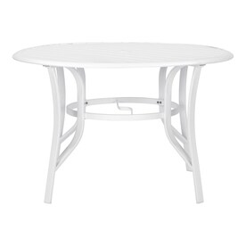 fe652f0973f allen + roth Truxton Round Dining Table 46-in W X 46-in L with