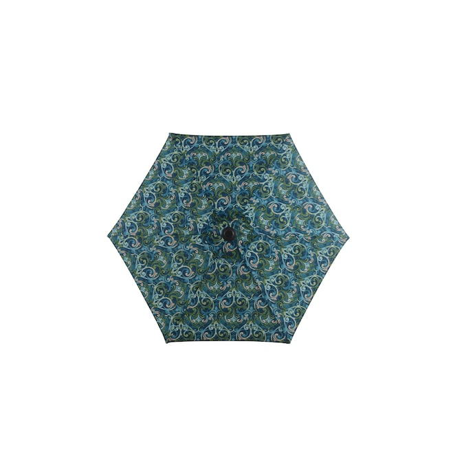 style selections 7 5 ft salito marine no tilt market patio umbrella