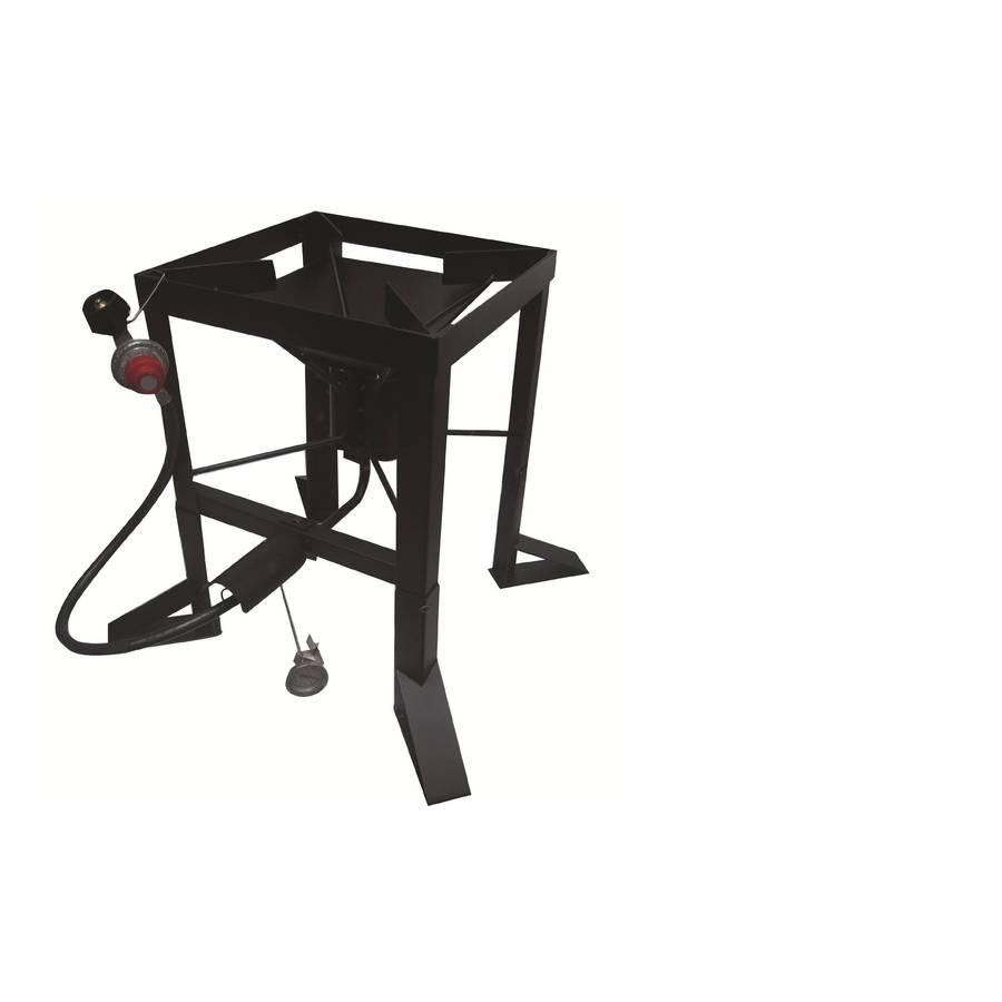 Kajun kitchen 20.5-in 2-Burner 20-lb Cylinder Manual Ignition Outdoor Burner