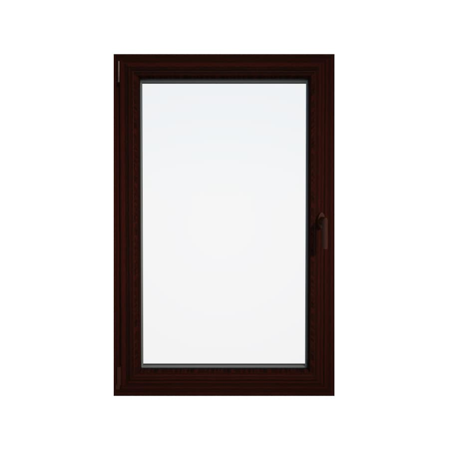 Eurowindows Group Tilt and Turn 1-Lite Vinyl Double Pane Annealed Replacement Egress Casement Window (Rough Opening: 36-in x 60-in Actual: 35.5-in x 59.5-in)