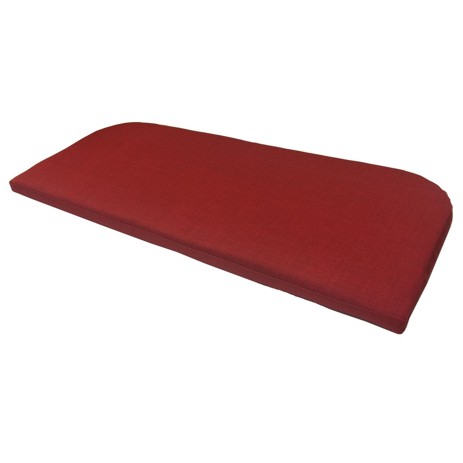 Shop garden treasures red texture cushion for bistro chair - Garden treasures replacement cushions ...