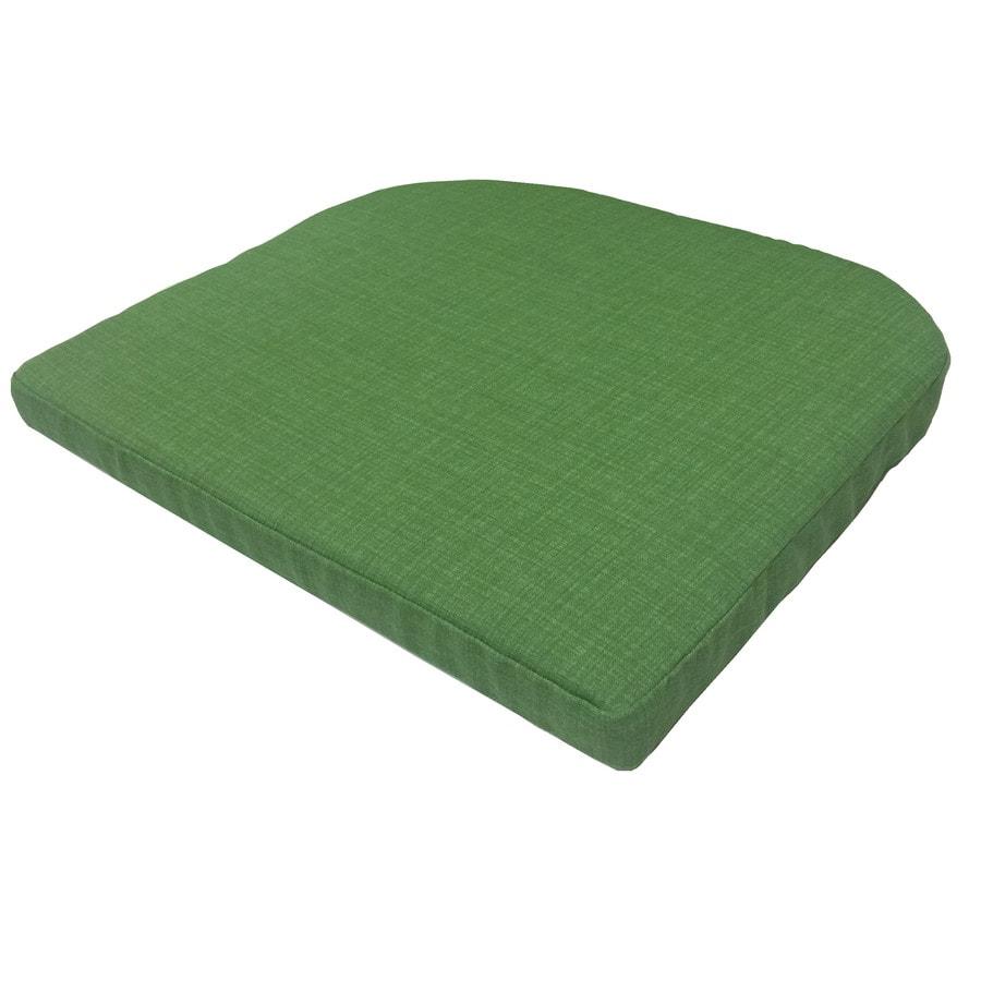 Garden Treasures Green Texture Seat Pad for Bistro Chair