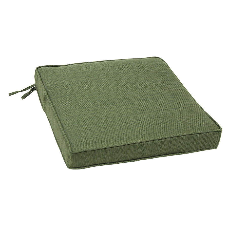 allen + roth Green Texture Cushion for Bistro Chair
