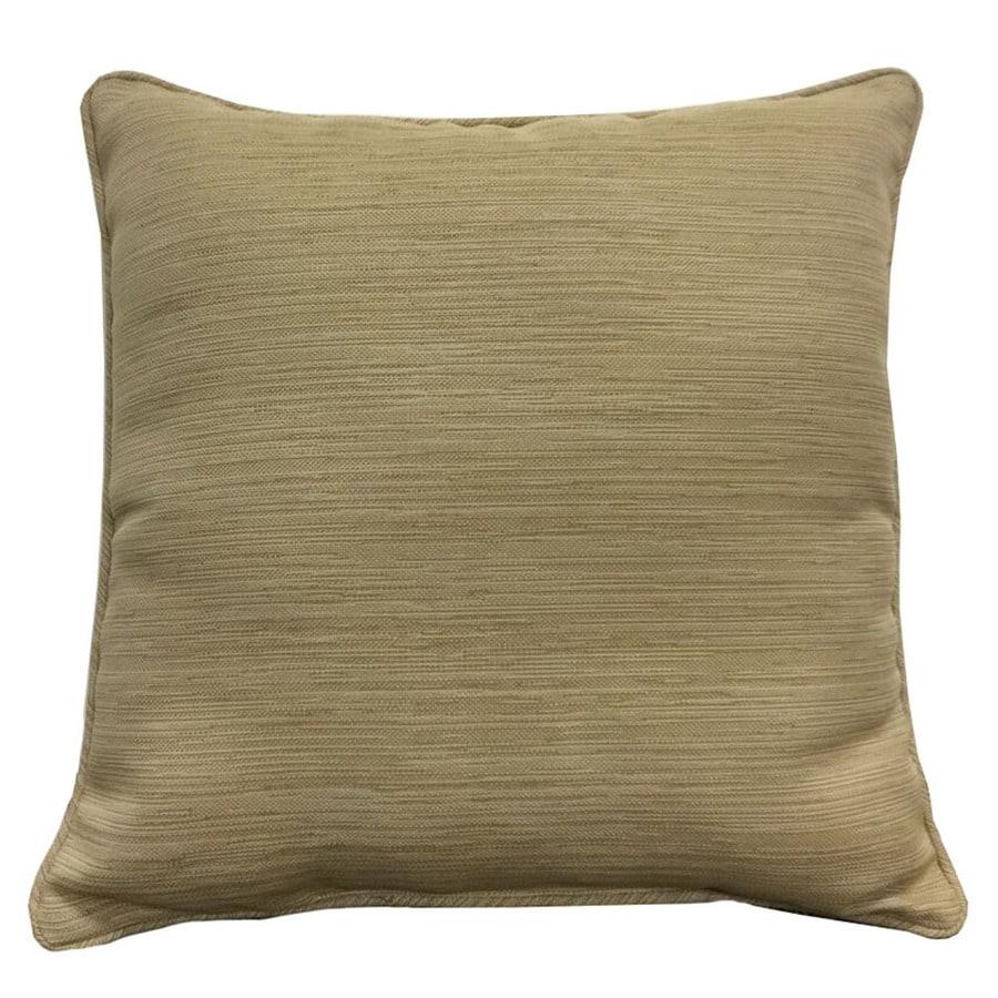 allen + roth Natural/Wheat Texture Cushion for Bistro Chair