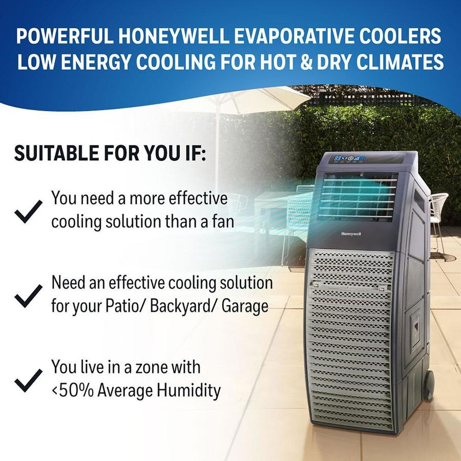 Sq Ft Portable Evaporative Cooler
