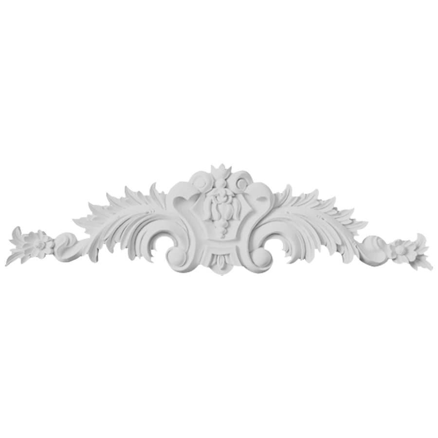 Ekena Millwork 11.5-in x 2.875-in Scroll Urethane Applique
