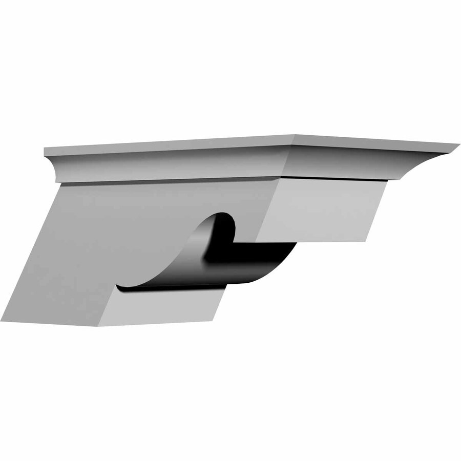 Ekena Millwork 7.5-in x 4-in Nexus Polyurethane Corbel