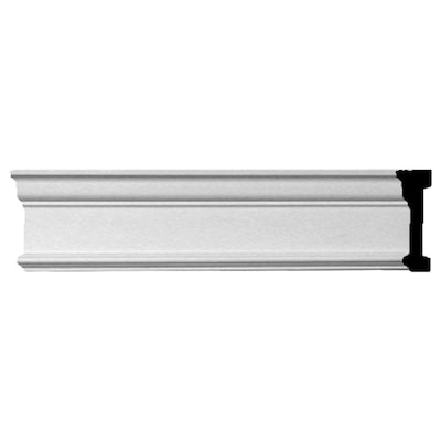 Swell 4 3 4 In X 8 Ft Primed Polyurethane Chair Rail Moulding Actual 4 75 In X 7 88 Ft Bralicious Painted Fabric Chair Ideas Braliciousco