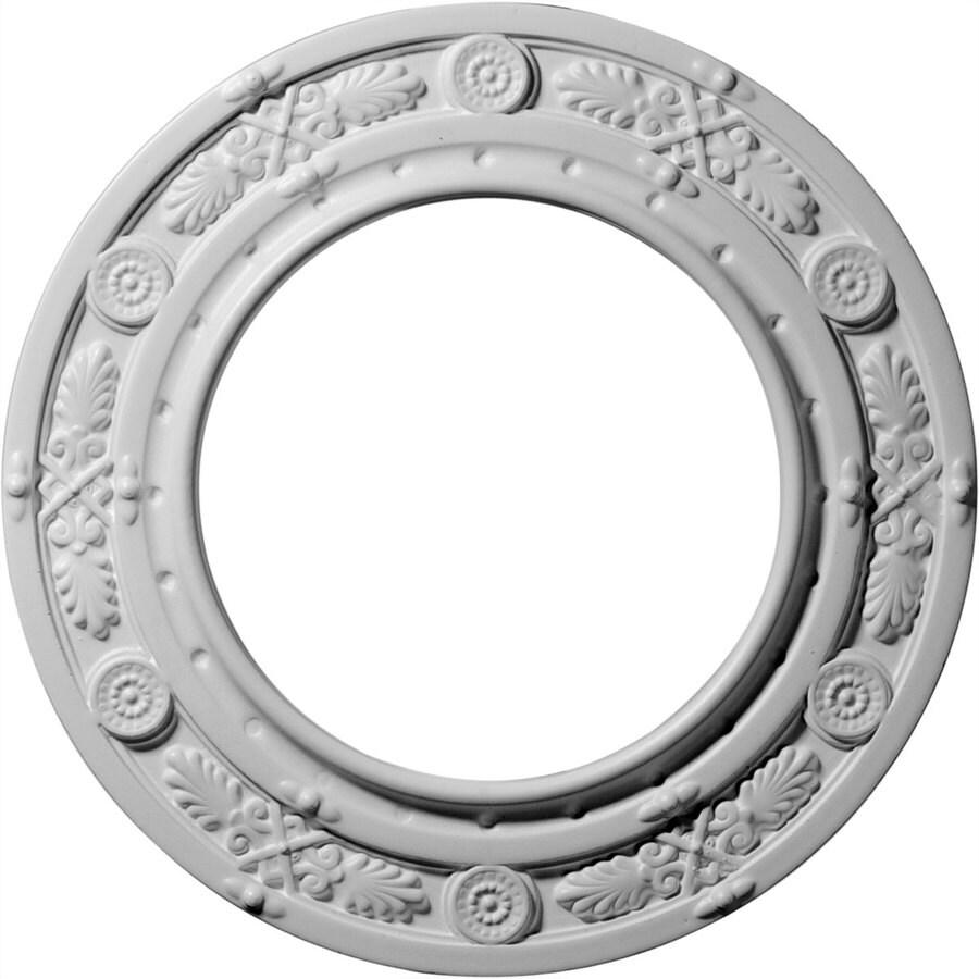 Ekena Millwork Daniela 10-in x 10-in Polyurethane Ceiling Medallion