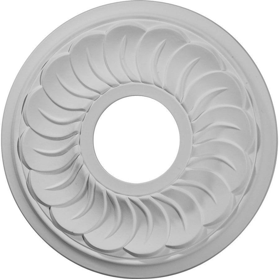 Ekena Millwork Blackthorne 11.75-in x 11.75-in Polyurethane Ceiling Medallion