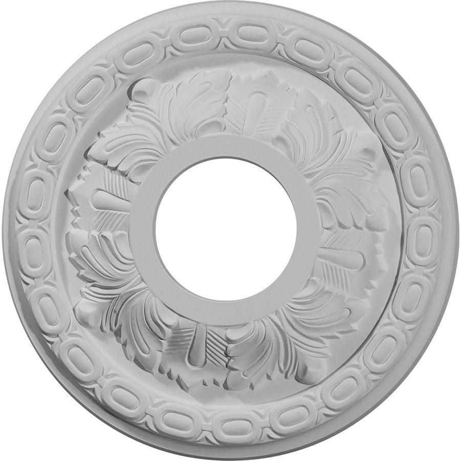 Ekena Millwork 11.375-in x 11.375-in Urethane Ceiling Medallion