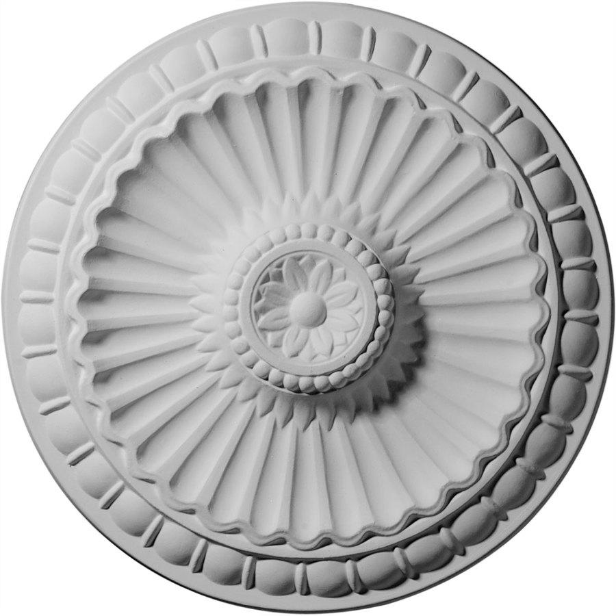 Ekena Millwork 11.25-in x 11.25-in Urethane Ceiling Medallion