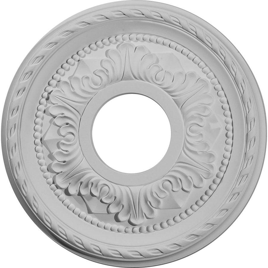 Ekena Millwork Palmetto 11.375-in x 11.375-in Polyurethane Ceiling Medallion