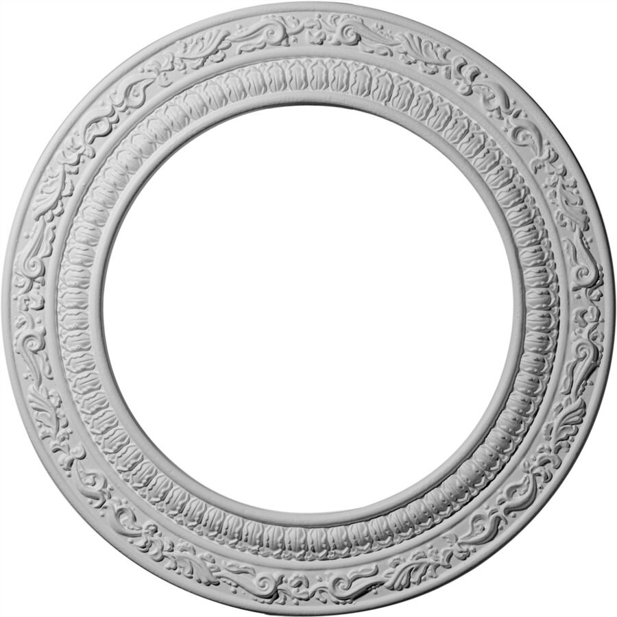 Ekena Millwork Andrea 12-in x 12-in Polyurethane Ceiling Medallion
