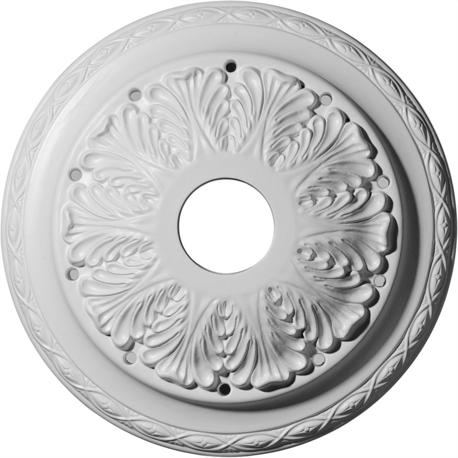 Ekena Millwork Asa 13.75-in x 13.75-in Polyurethane Ceiling Medallion