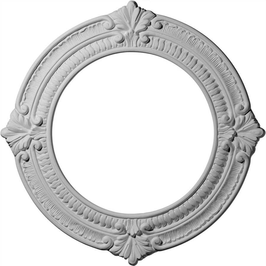 Ekena Millwork Benson 13.125-in x 13.125-in Polyurethane Ceiling Medallion